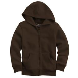 Solid Fleece Hoodie by Jumping Beans in Contraband