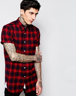 Check Shirt by Asos in The Flash