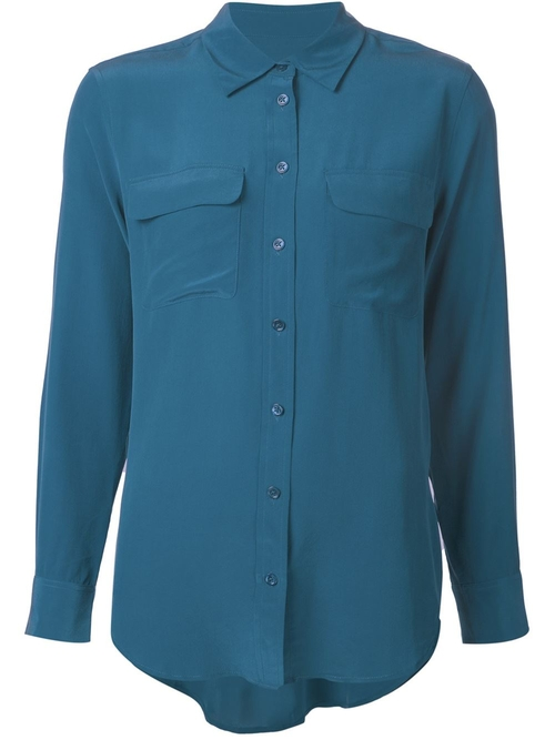 Chest Pocket Shirt by Equipment in Burn After Reading