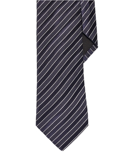 Striped Silk Tie by Ralph Lauren in Elementary