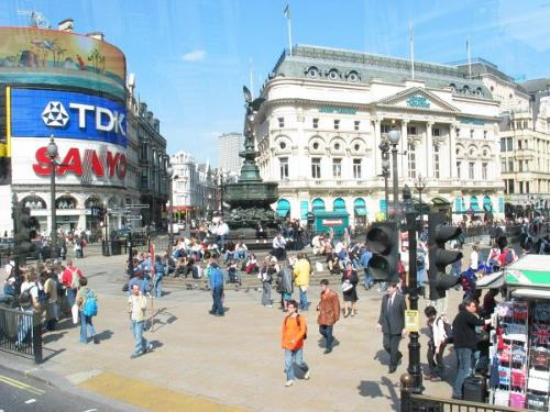 Piccadilly Circus London, United Kingdom in Kingsman: The Secret Service