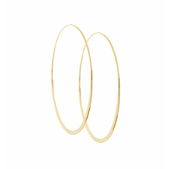 Wave Magic Hoop Earrings by Lana in Keeping Up With The Kardashians