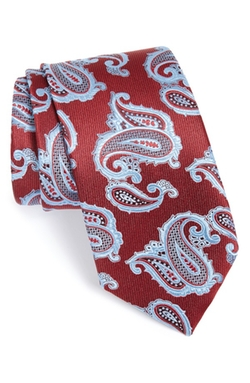 Paisley Silk Tie by Ermenegildo Zegna in Wedding Crashers