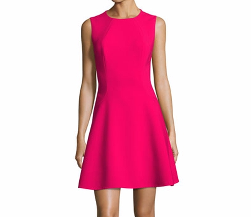 Stretch Crepe Fit-and-Flare Dress by Kate Spade New York in Mike and Dave Need Wedding Dates