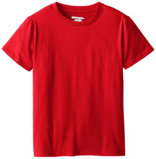 Big Boys' Short-Sleeve Solid T-Shirt by Kidtopia in If I Stay