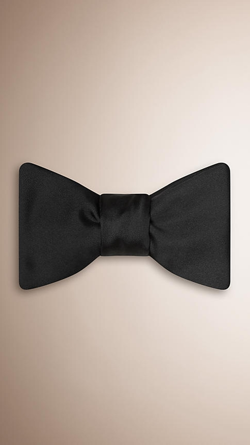 Silk Bow Tie by Burberry in Wedding Crashers