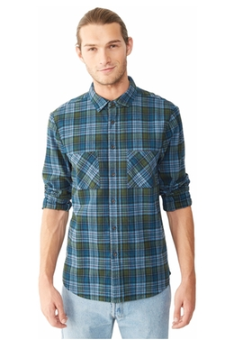 Flannel Button Up Shirt by Alternative in The Intern