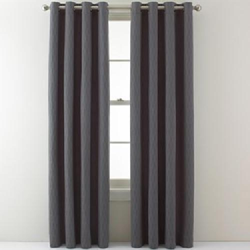 Society Grommet-Top Curtain Panel by Studio in Vampire Academy