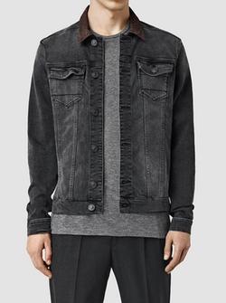 Bering Denim Jacket by Allsaints in Riverdale