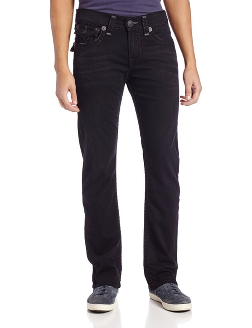 Ricky Super T Straight-Leg Jeans by True Religion in Modern Family