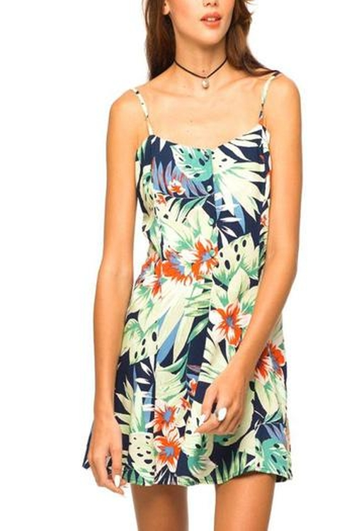 Tropical Skater Dress by Motel Rocks in She's The Man