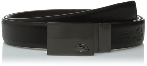 Premium Reversible Leather Belt by Lacoste in By the Sea