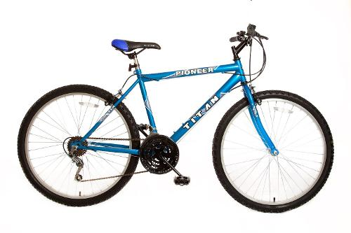 Men's Pioneer 12-Speed Commuter Mountain Bike by Titan in Dumb and Dumber To
