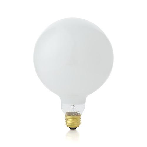 Large 60W Soft White Globe Light Bulb by Crate and Barrel in Oculus