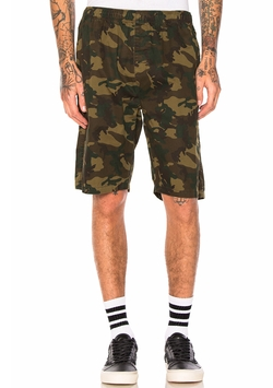 Camo Beach Short by Stussy in Logan Lucky