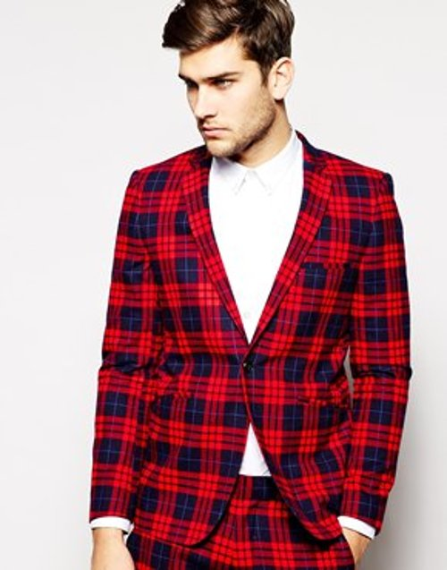 Plaid Suit Jacket by Vito in If I Stay