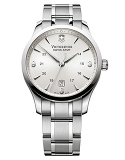 Alliance Stainless Steel Watch by Victorinox in Ballers