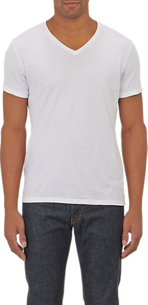 Basic V-Neck T-Shirt by Barneys New York in Sleeping with Other People