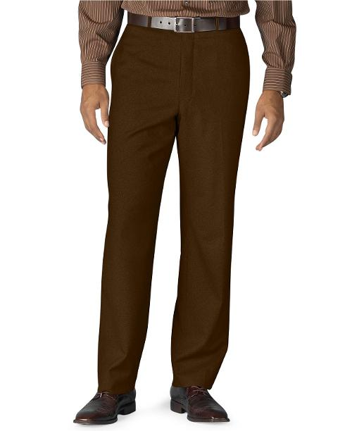 Dress Pants Wool Flat Front by Ralph Lauren in Anchorman 2: The Legend Continues