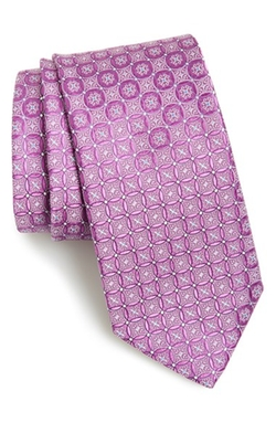 'Bucannon' Medallion Silk Tie by John W. Nordstrom in The Blacklist