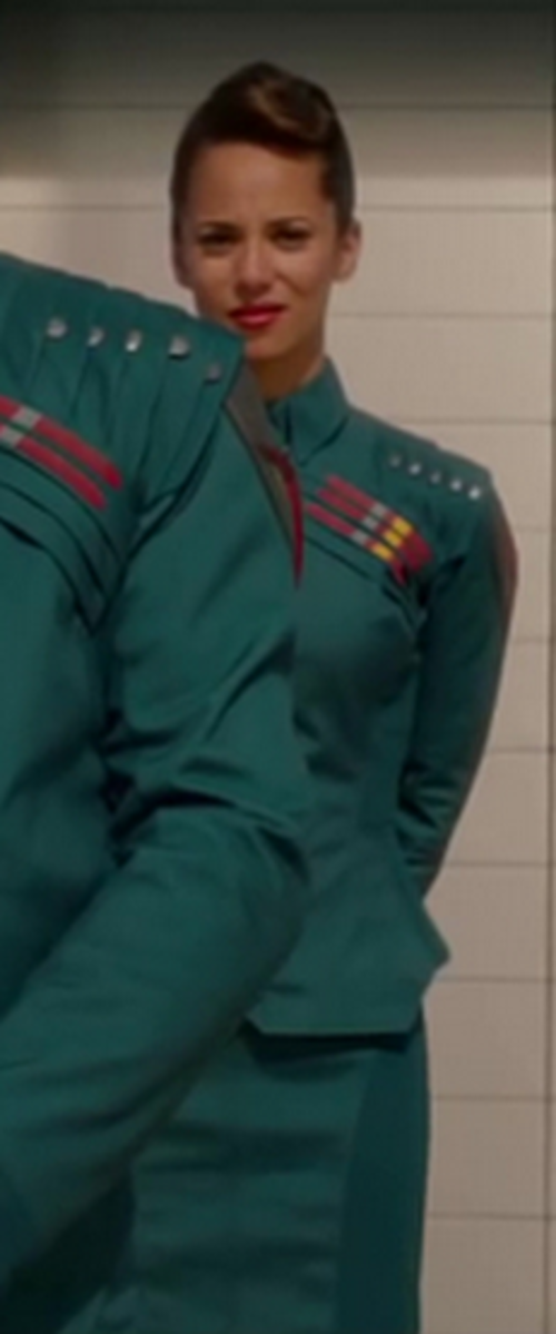 Custom Made Costume (Nova Prime's Assistant) by Alexandra Byrne (Costume Designer) in Guardians of the Galaxy