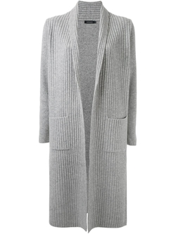Ribbed Long Cardigan by Loveless in American Horror Story