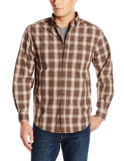 Men's Creek Long Sleeve Plaid Shirt by Wolverine in The Town