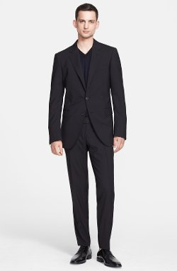 'Attitude' Black Wool Suit by Lanvin in Horrible Bosses 2
