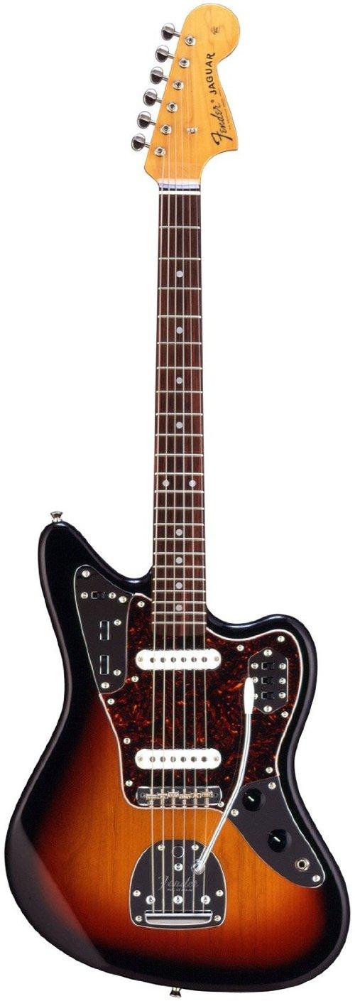 Japan Sun Burst Jaguar Electric Guitar by Fender in If I Stay