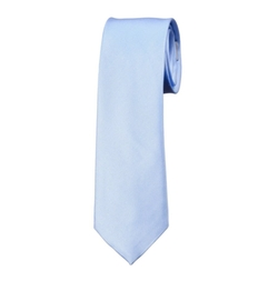 Solid Color Skinny Necktie by Alberto Cardinali in XOXO