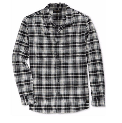 Long-Sleeve Surf Days Plaid Shirt by Quiksilver in Bastards