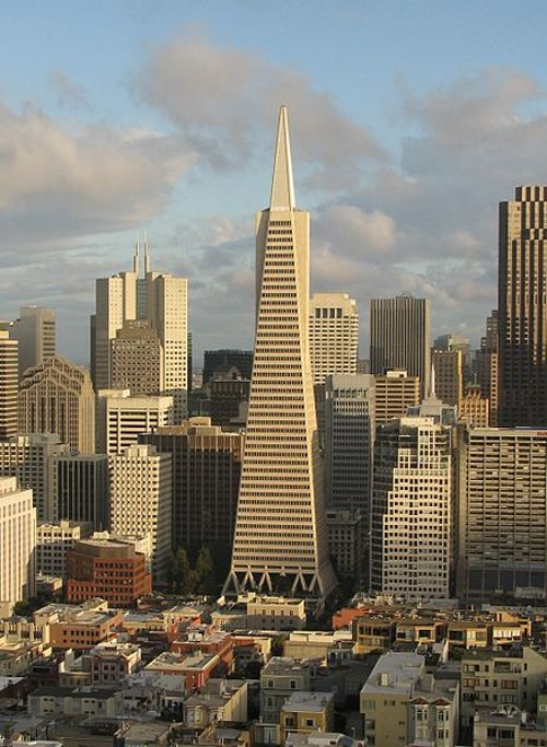 Transamerica Pyramid San Francisco, California in Need for Speed