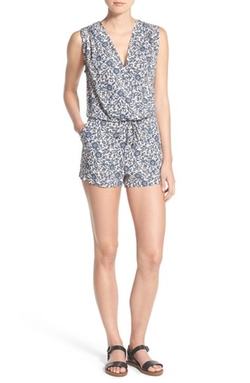 'Friesian' Floral Print Romper by Splendid in New Girl