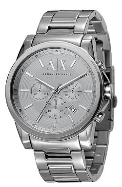 Round Chronograph Watch by AX Armani Exchange in About Last Night