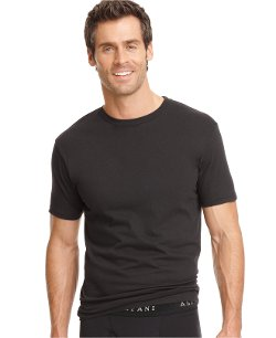 Men's Underwear, Crew Neck T Shirt by Alfani in Need for Speed