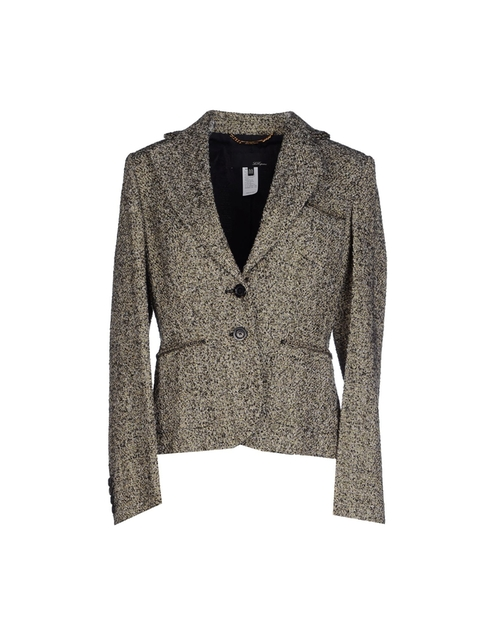Tweed Blazer by Les Copains in The Good Wife - Season 7 Episode 12