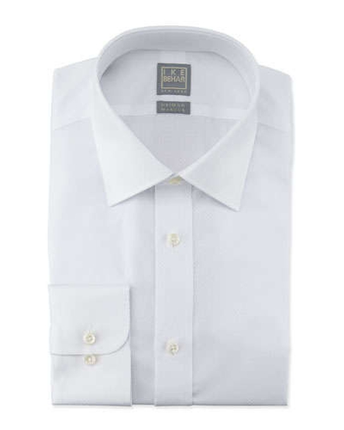 Box-Check Dress Shirt by Ike Behar in Suits - Season 5 Episode 7