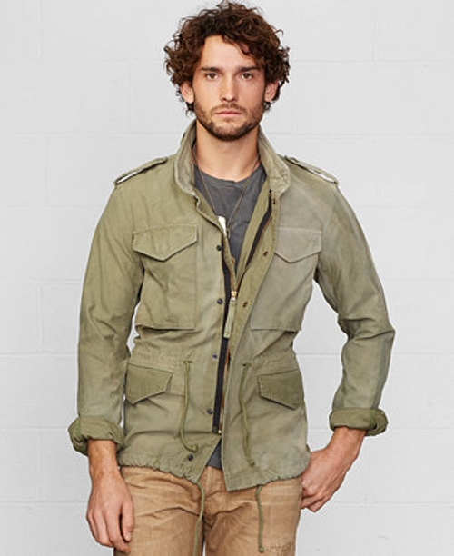 Washed Cotton Field Jacket by Denim & Supply Ralph Lauren in Tomorrowland