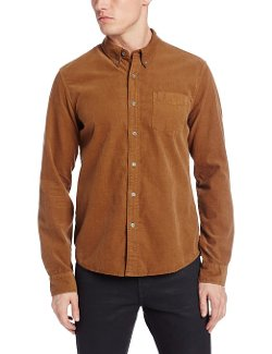 Men's Corduroy Button Down Shirt by AG Adriano Goldschmied in Need for Speed