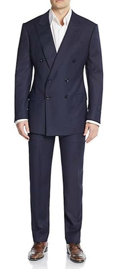 S-Line Double-Breasted Suit by Armani Collezioni  in Get Hard