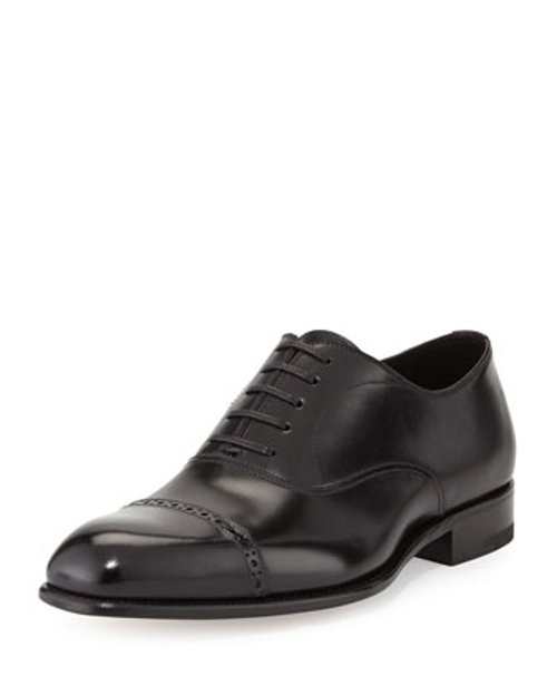 Charles Cap-Toe Oxford Shoes by Tom Ford in Furious 7