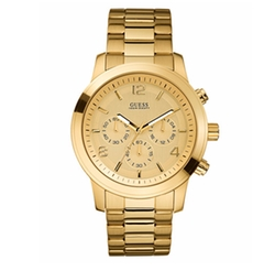 Chronograph Stainless Steel Watch by Guess in Free Fire
