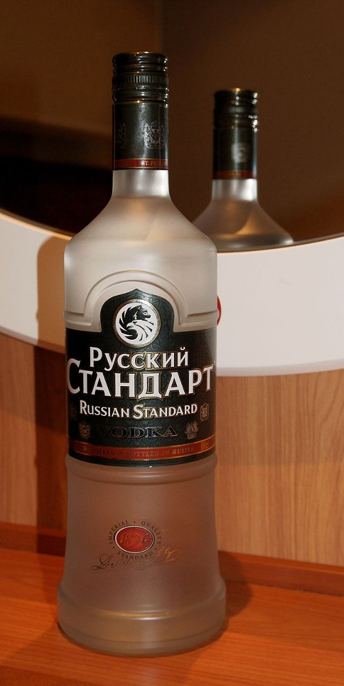 Vodka by Russian Standard in John Wick
