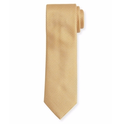 Textured Dot Neat Silk Tie by Brioni in House of Cards
