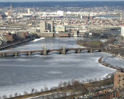 Charles River Boston, Massachusetts in Ted 2