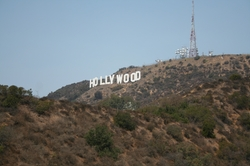 Los Angeles, California by Hollywood Sign in We Are Your Friends