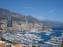 Monte Carlo, Monaco by Port Hercule in The Transporter: Refueled
