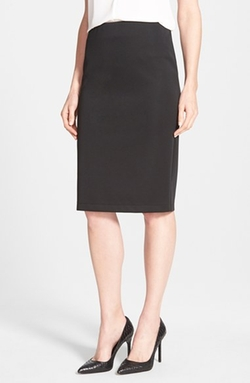 Back Zip Pencil Skirt by Vince Camuto in Jessica Jones