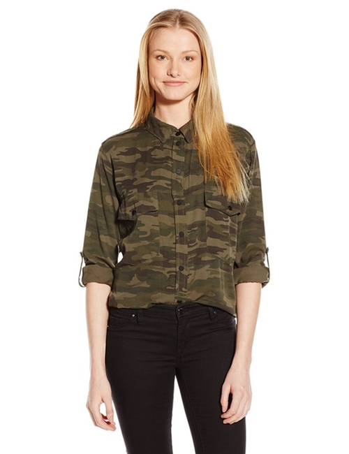 Women's Boyfriend Shirt by Sanctuary Clothing in The Great Indoors - Season 1 Preview