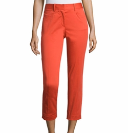 Audrey Cropped Stretch Pants by Rag & Bone in Scream Queens
